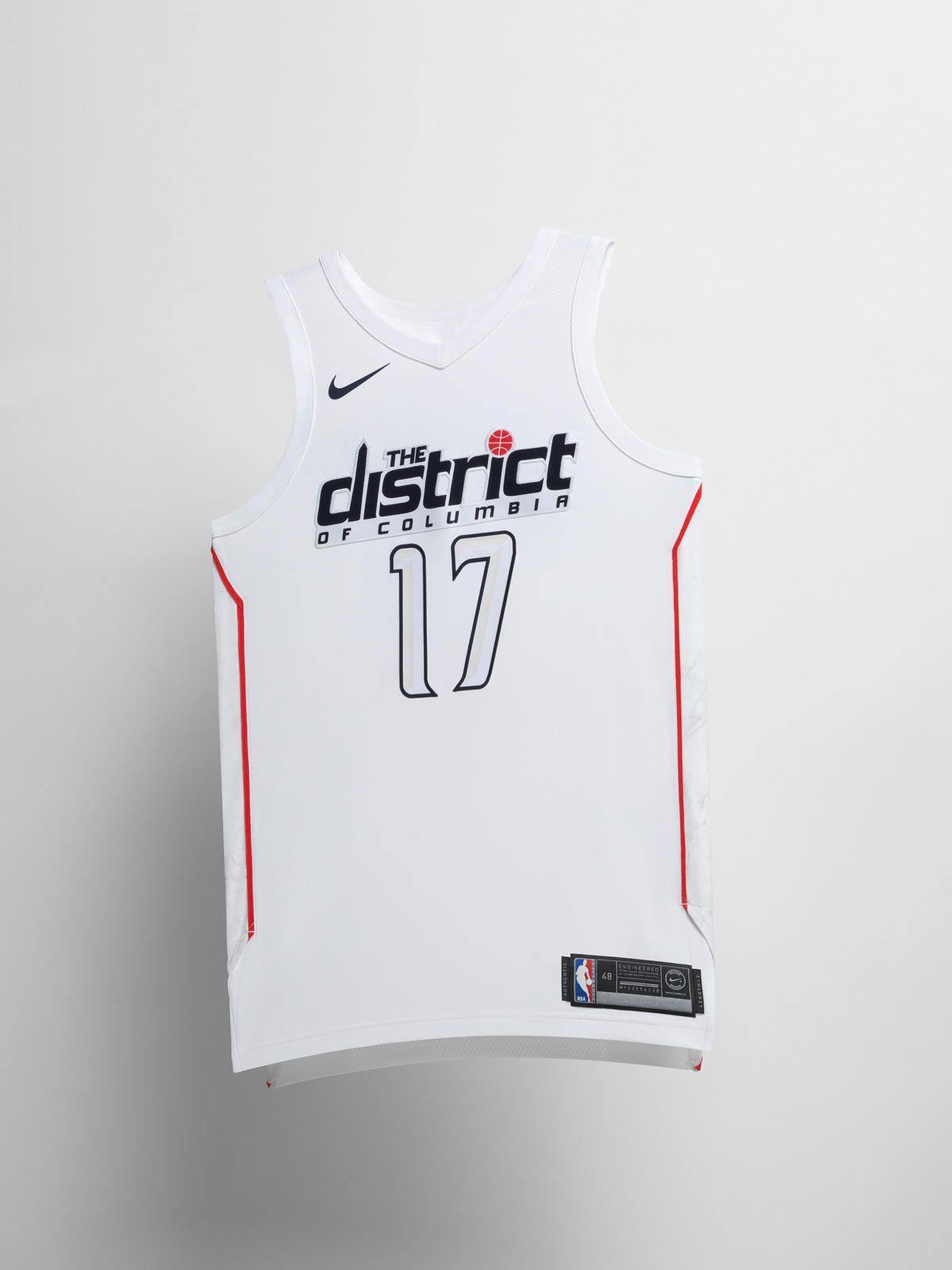 Here is the Wizards  The District  City Edition uniform - Bullets ... f4db60a51