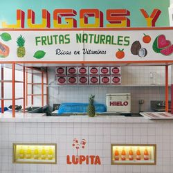 The juice bar up front will serve a much expanded variety of the fresh-pressed juices already offered at Tacombi.