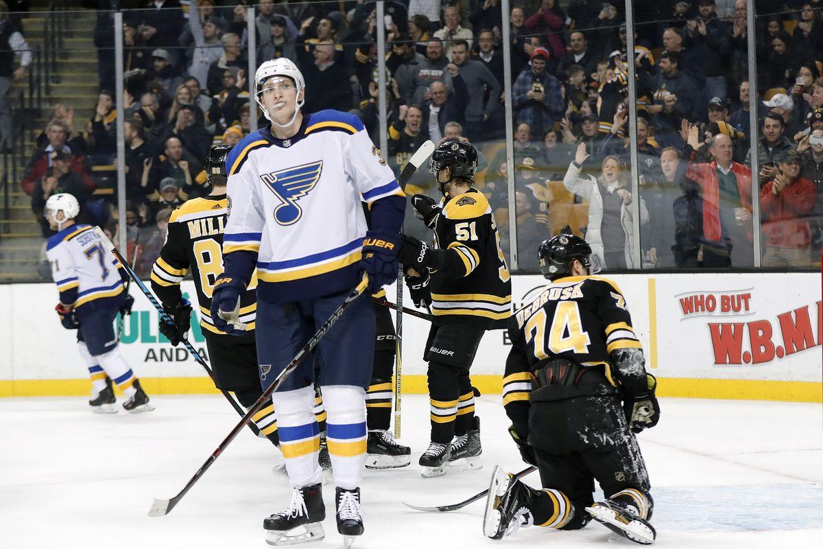 NHL: FEB 01 Blues at Bruins