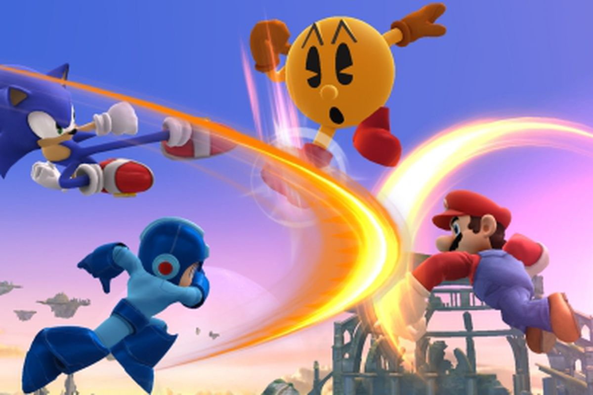 Pac-Man headed to Super Smash Bros , Mr  Game & Watch teased (update
