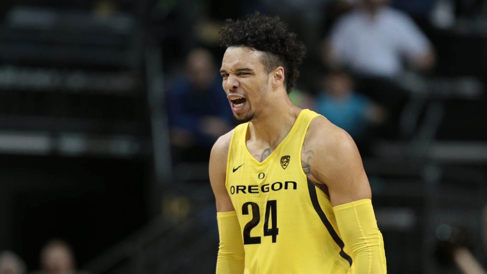 ankle oregons dillon brooks - HD 1600×900