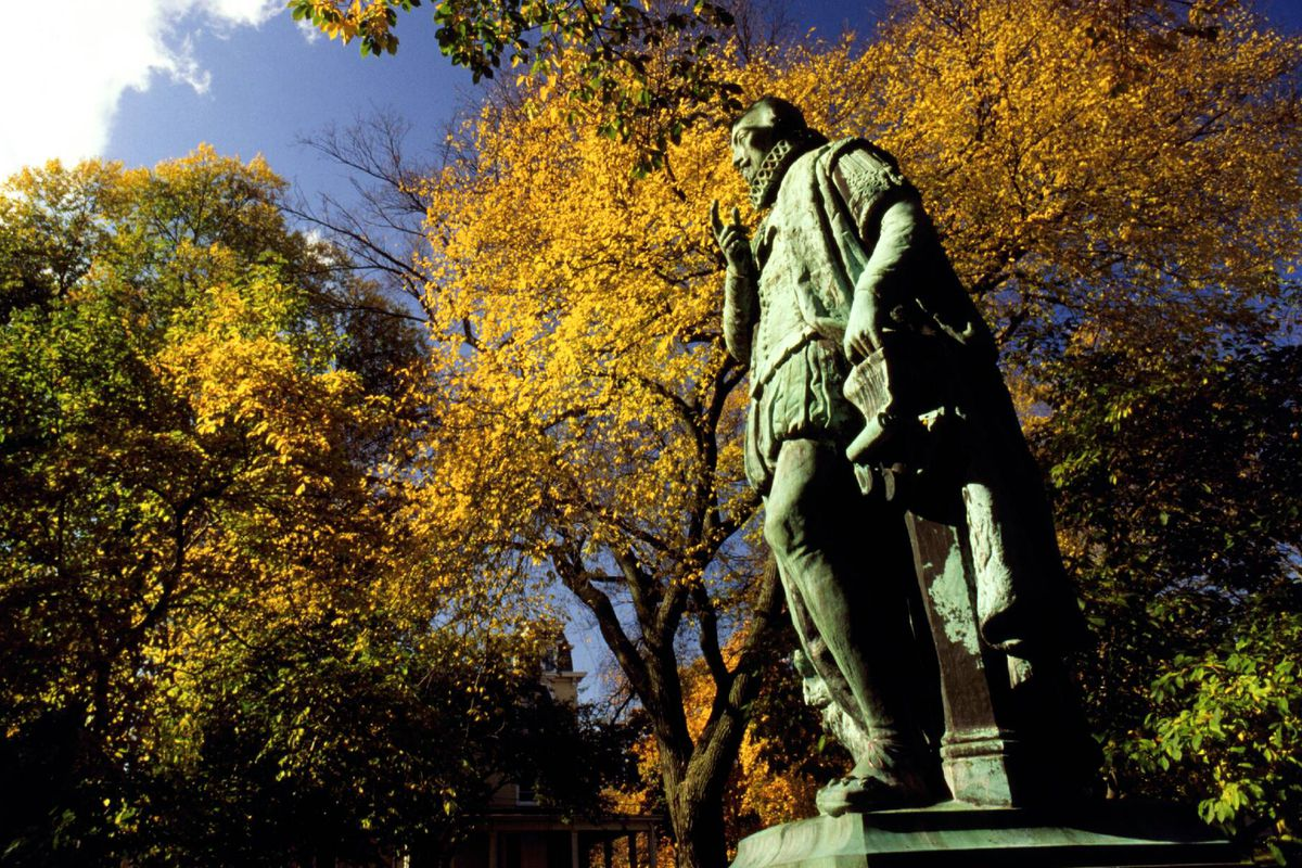 Like William the Silent's statue on Voorhees Mall, leaders at Rutgers have offered little