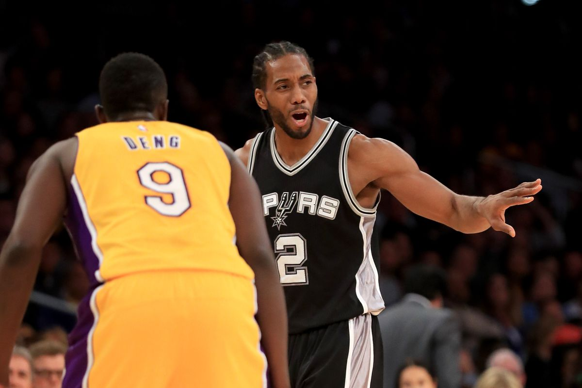 373ba227973 NBA Free Agent Rumors  Lakers  know  they can sign Spurs forward Kawhi  Leonard in 2019