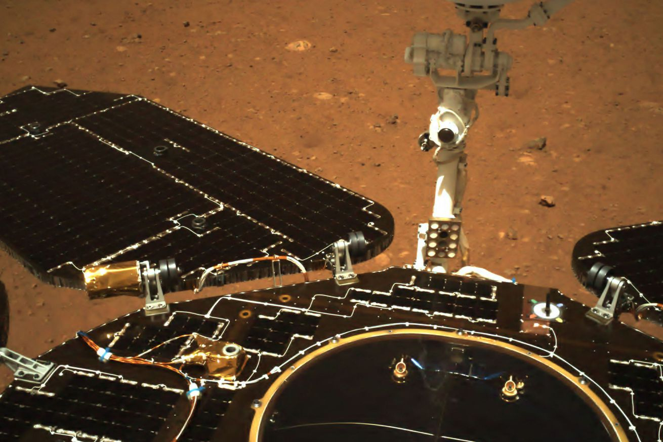 CHINA-SPACE-SCIENCE-MARS