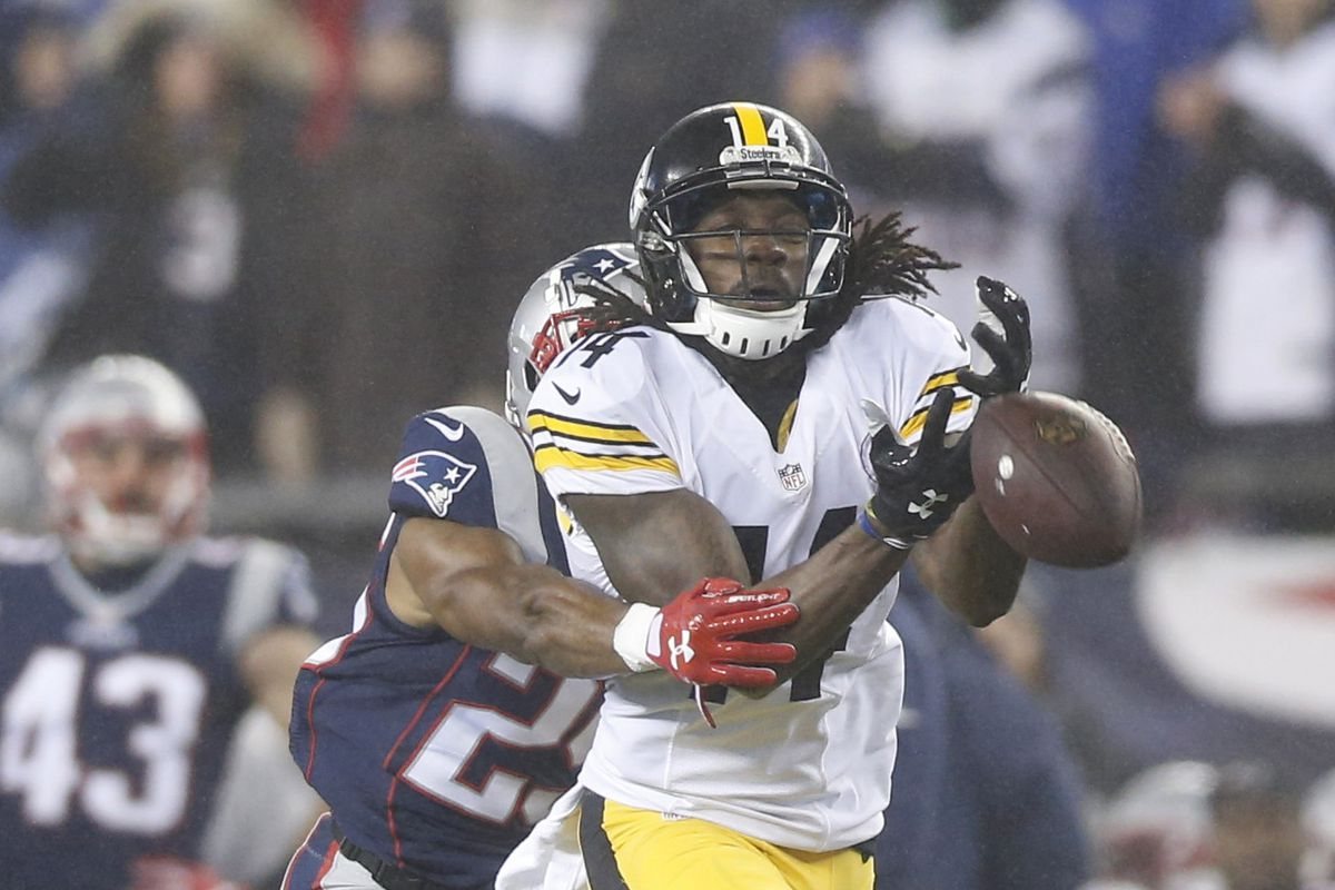 more photos 363cd 57709 Steelers WR Sammie Coates divulges groin surgery, which begs ...