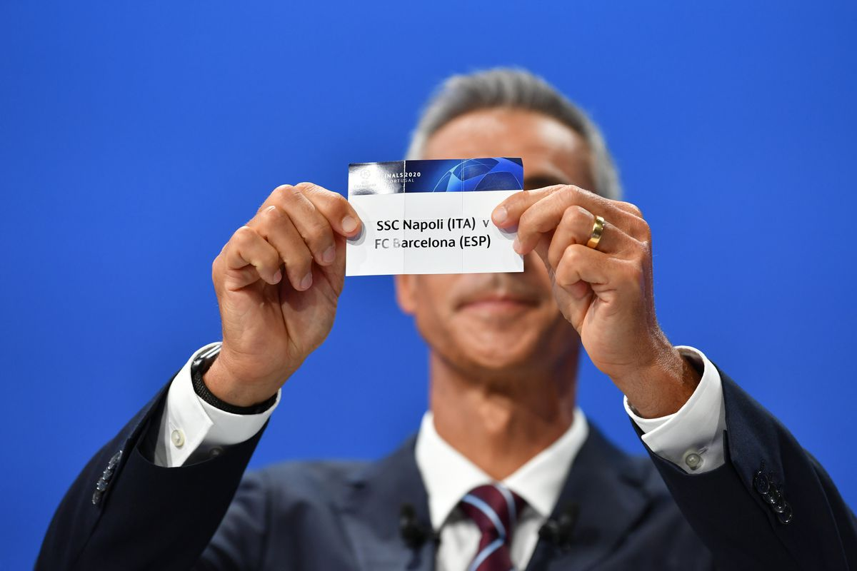 Champions League Quarterfinal Draw Chelsea To Face Either Napoli Or Barcelona We Ain T Got No History