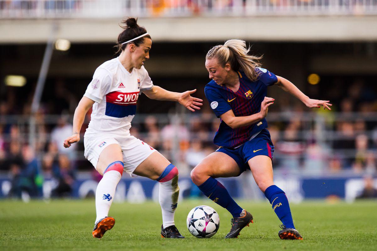 FC Barcelona Women v Olympique Lyon Women - UEFA Women's Champions League Quarter Final 2nd Leg