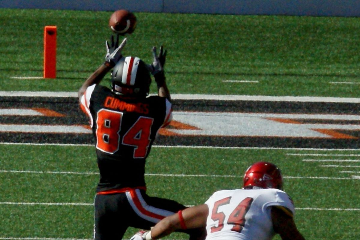 """Oregon St/ will have Kevin Cummings, their """"possession receiver"""" back for the Sheraton Hawaii Bowl."""