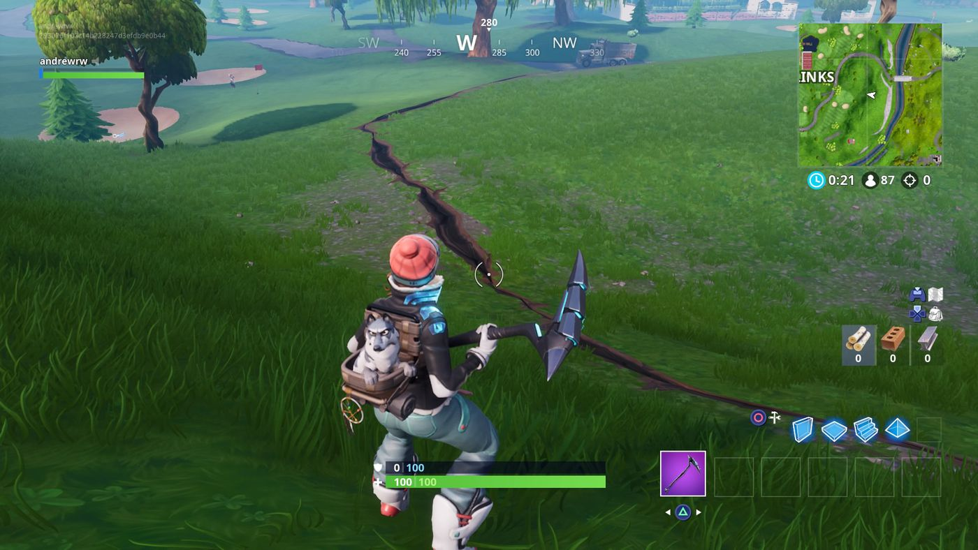 Earthquake Time In Fortnite Fortnite S Island Is Being Rocked By Earthquakes The Verge