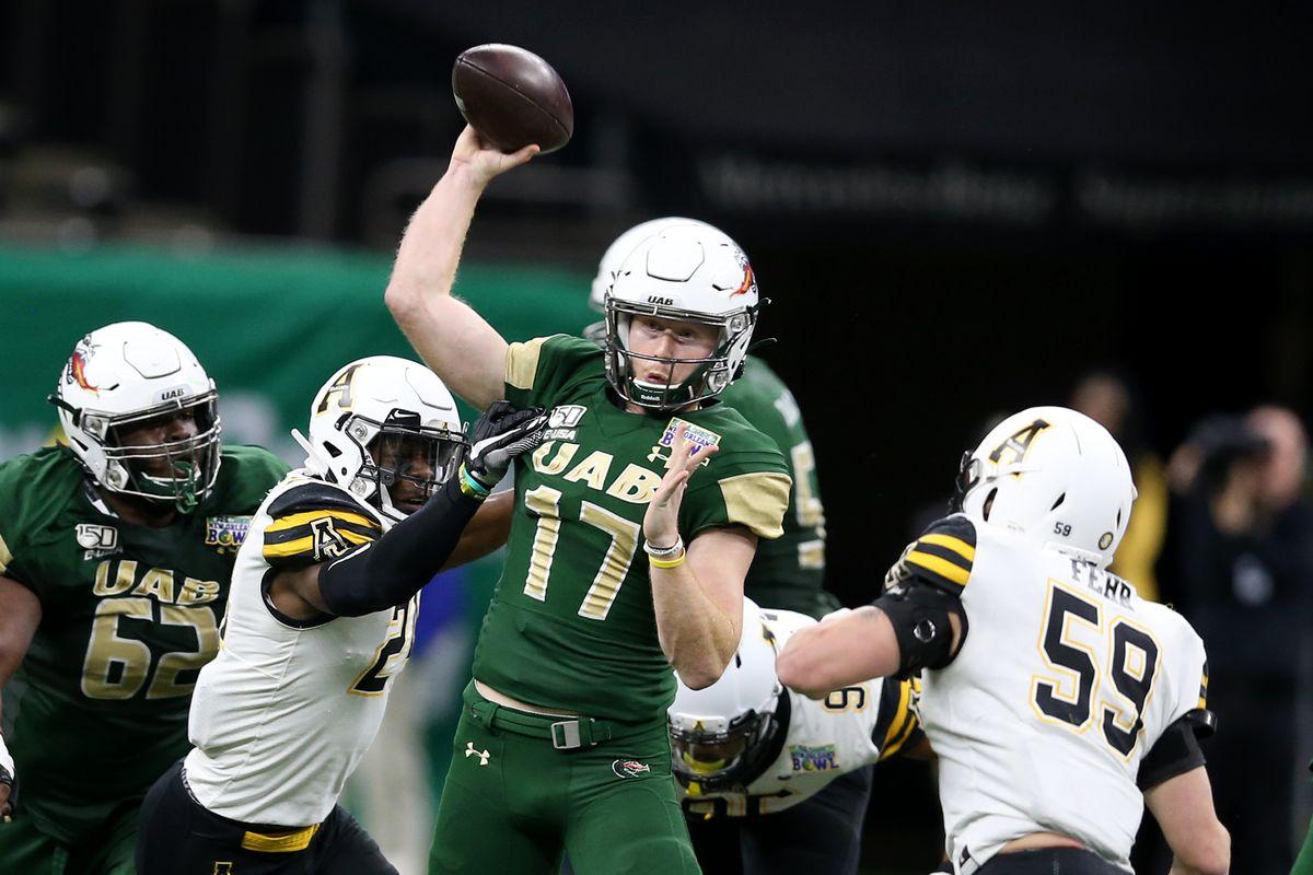 NCAA Football: New Orleans Bowl-Appalachian State vs UAB