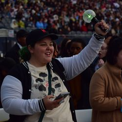 Fans at Soldier Field for BTS concert, May 11, 2019. | Mark Brayboy/For the Sun-Times