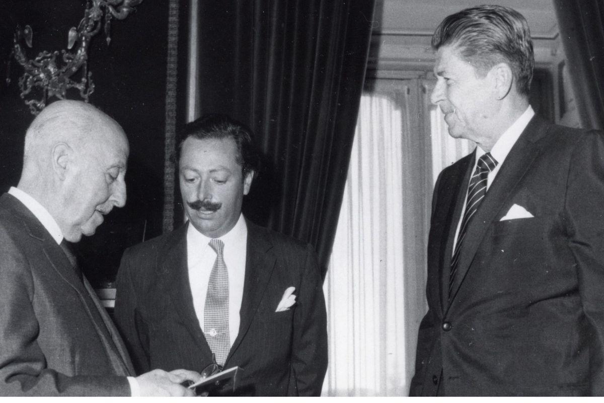 Reagan and Franco in 1972