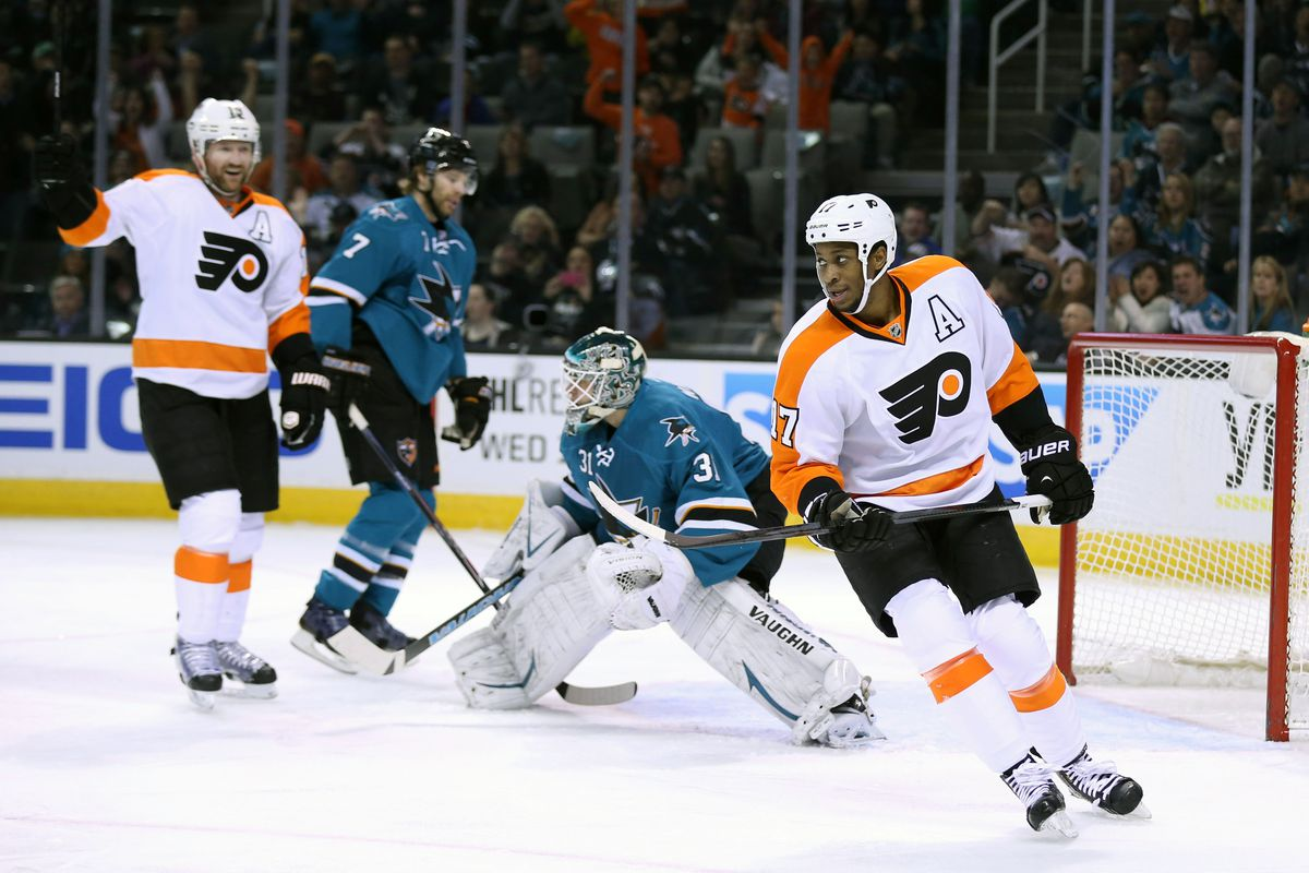 Flyers vs  Sharks: Lineups, TV info, stats and discussion