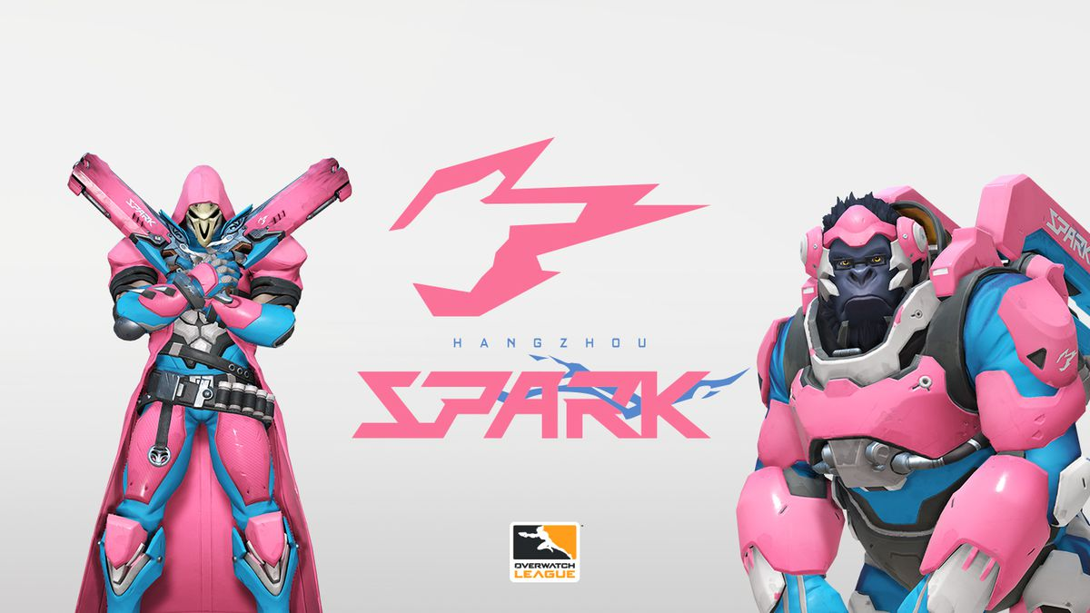 The Hangzhou Spark are making an electric entrance into the Overwatch League