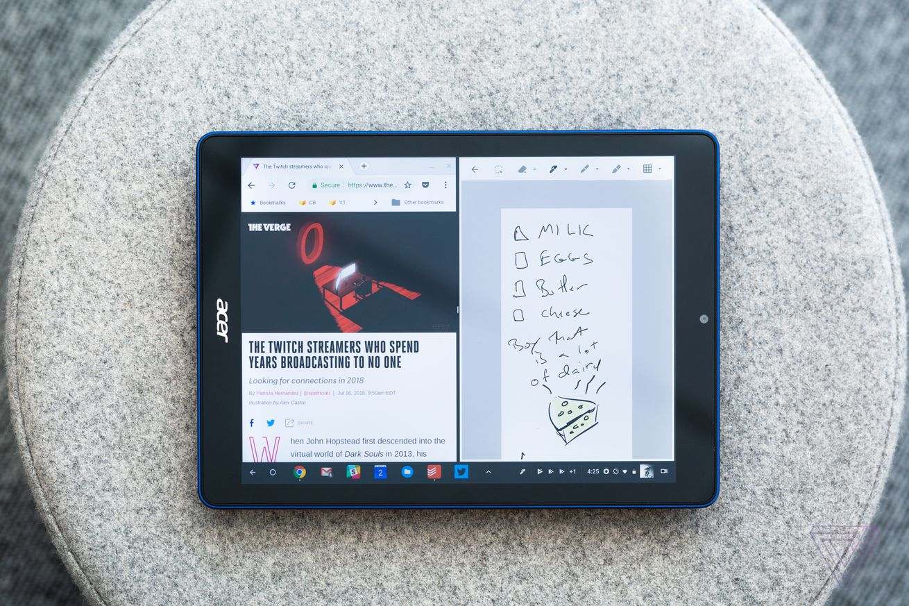 chrome os isn t ready for tablets yet