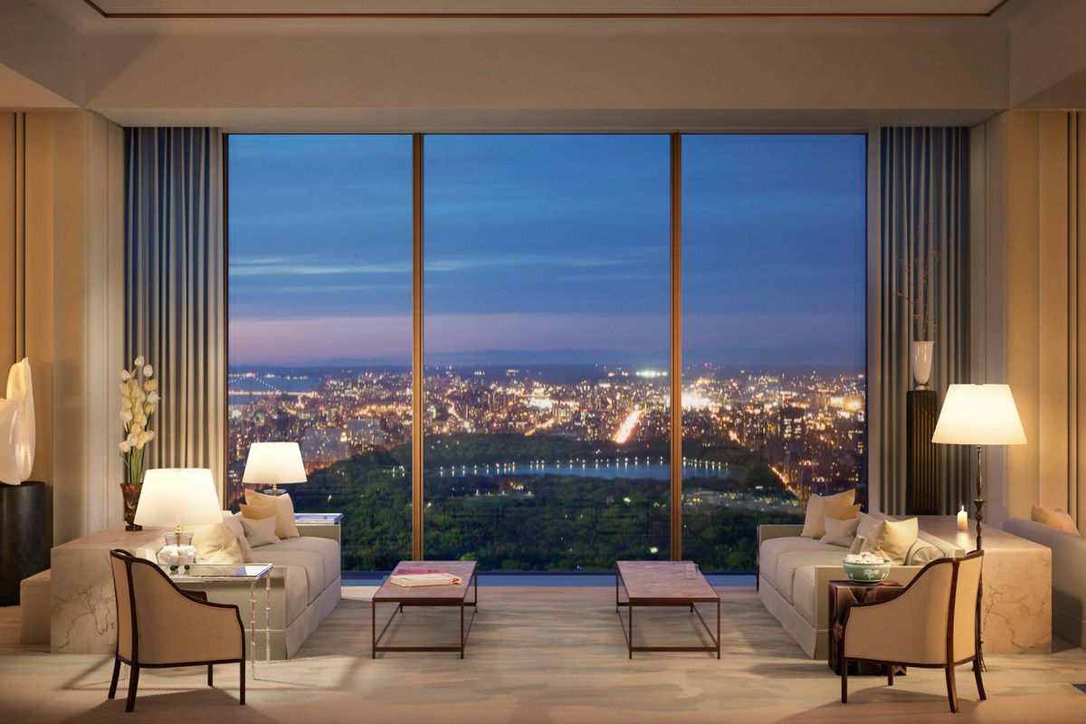 luxury condos with views of central park