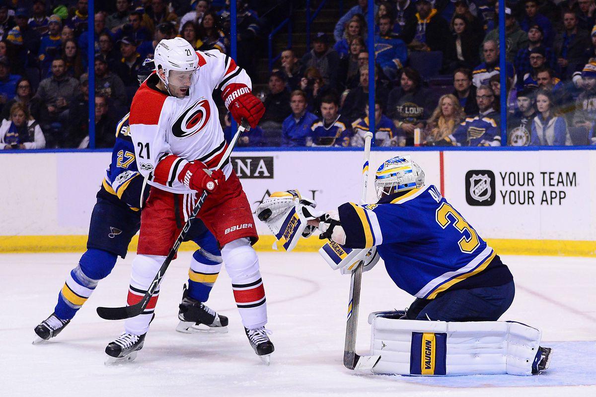 NHL: Carolina Hurricanes at St. Louis Blues
