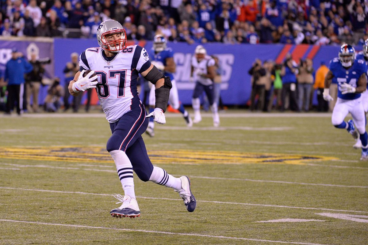 Running free with the Pats this weekend.