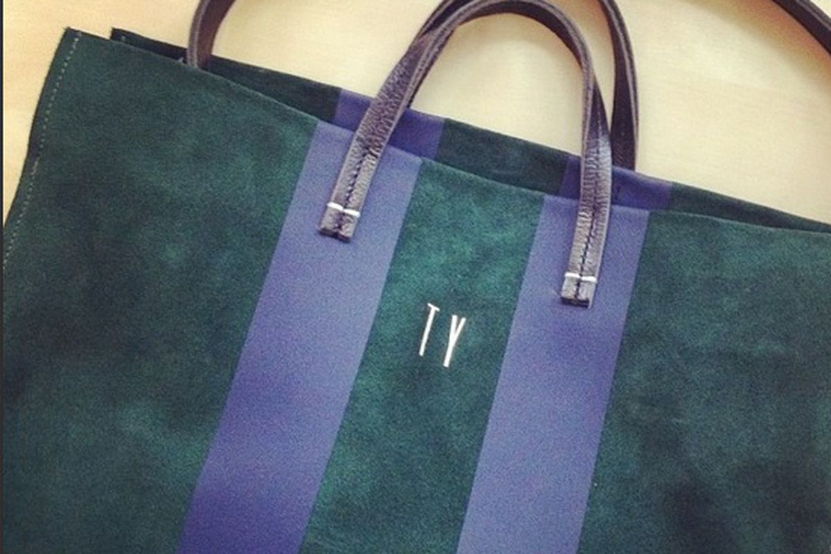 """The Clare Vivier Simple Tote, <a href=""""http://www.clarevivier.com/products/simple-tote"""">$368</a>"""