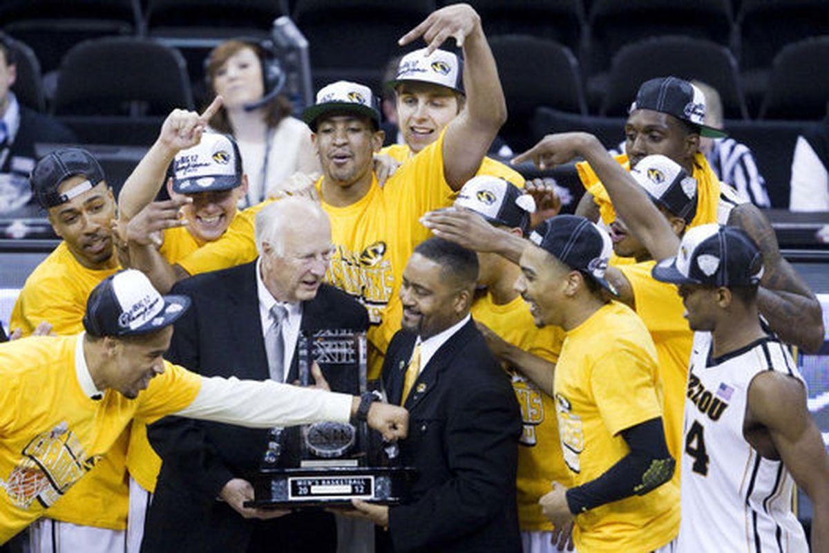 <strong>Congratulations to the Mizzou Tigers! </strong><em>(photo Shane Keyser, Kansas City Star)</em>