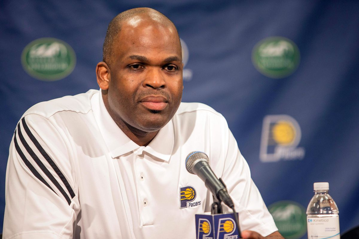 NBA: Indiana Pacers-Press Conference