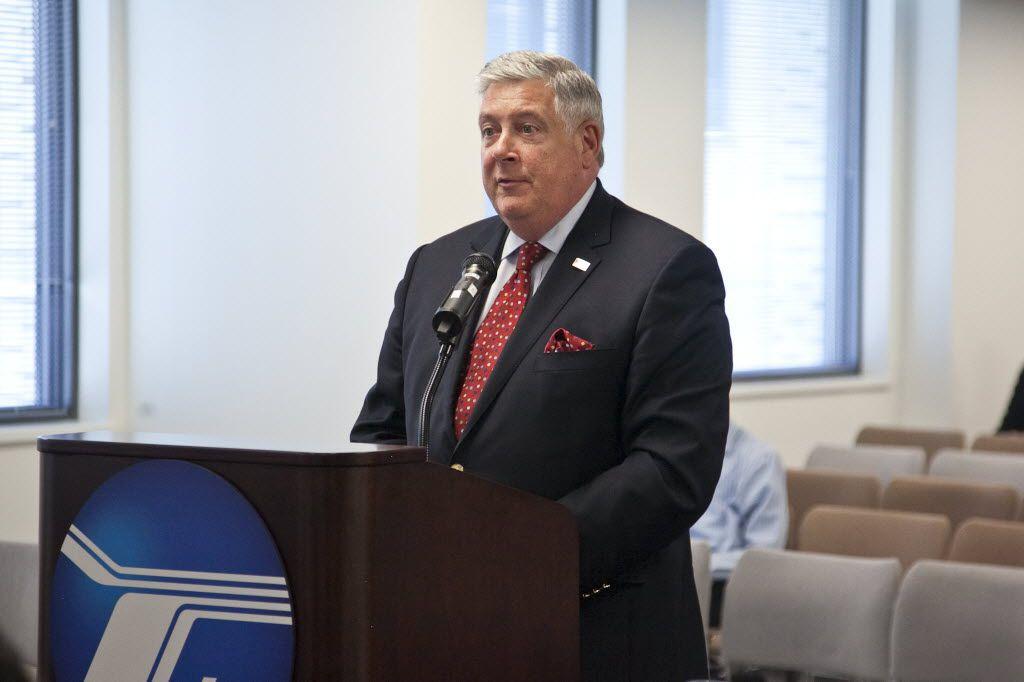 Regional Transportation Authority board Chairman Kirk Dillard.