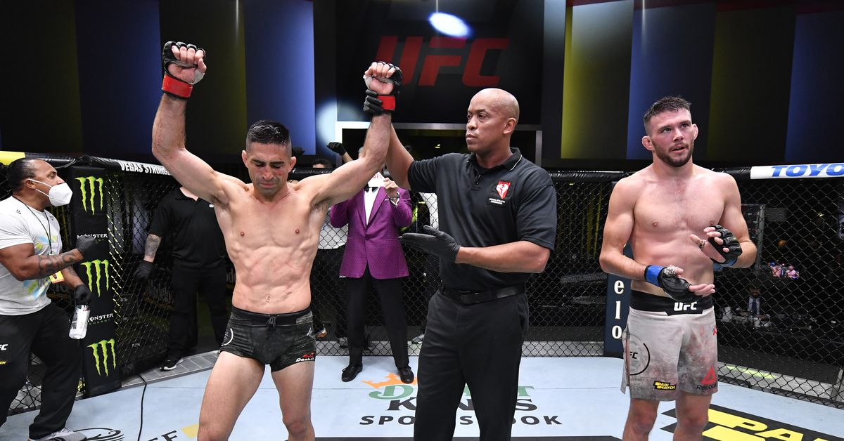 Ricardo Lamas non-committal on retirement after UFC Vegas 8 win: 'You just keep chasing those victories'