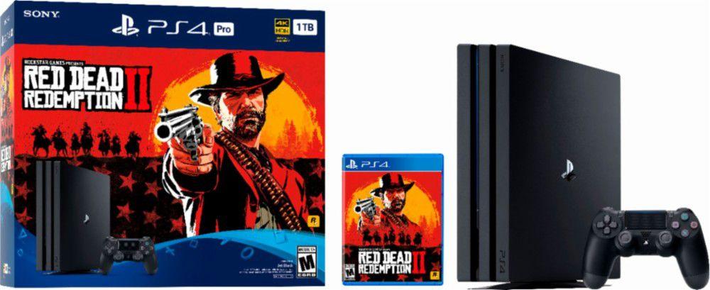 Red Dead Redemption 2 PlayStation 4 Pro bundle