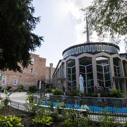St Mark's Catholic Church in Ukrainian Village. | Tyler LaRiviere/Sun-Times