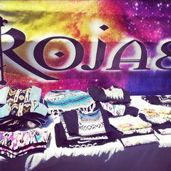 """Baja, Santa Fe and """"Neon Indian"""" bustiers by LA's Rojas."""