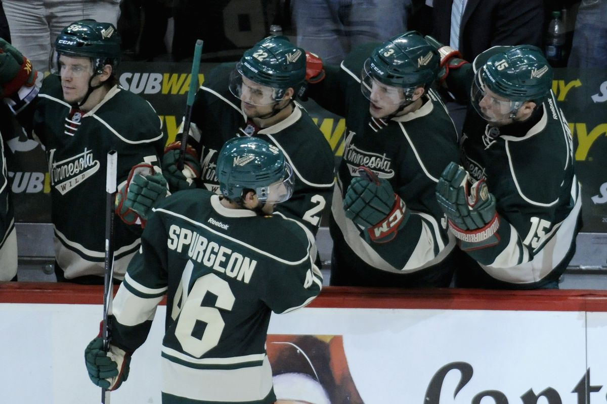 Did Jared Spurgeon get cheated in these rankings?