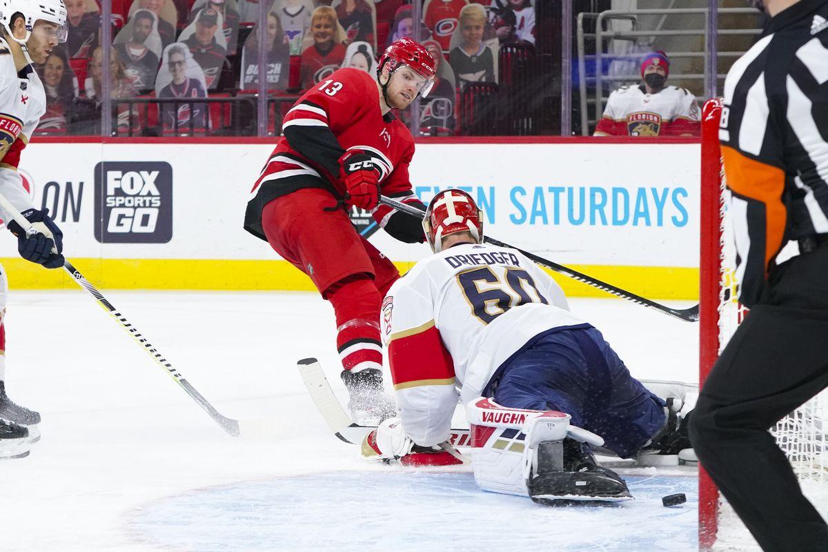 NHL: Florida Panthers at Carolina Hurricanes