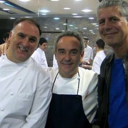 """<a href=""""http://eater.com/archives/2011/08/02/bourdain-elbulli.php"""" rel=""""nofollow"""">The elBulli Episode of No Reservations: Just the One-Liners</a><br />"""