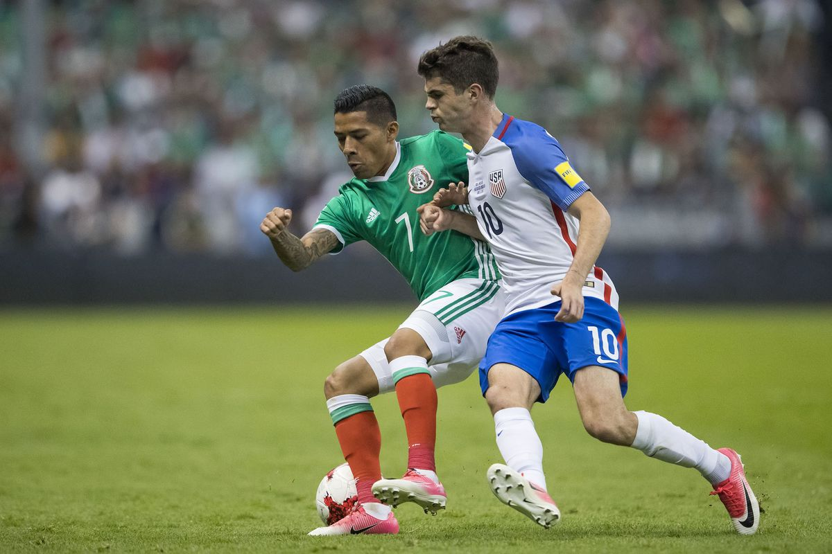 Mexico vs United States - FIFA 2018 World Cup Qualifiers