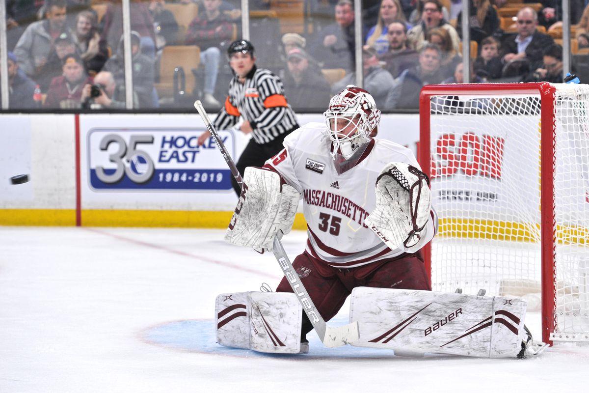 COLLEGE HOCKEY: MAR 22 Hockey East Championship - Boston College v UMASS