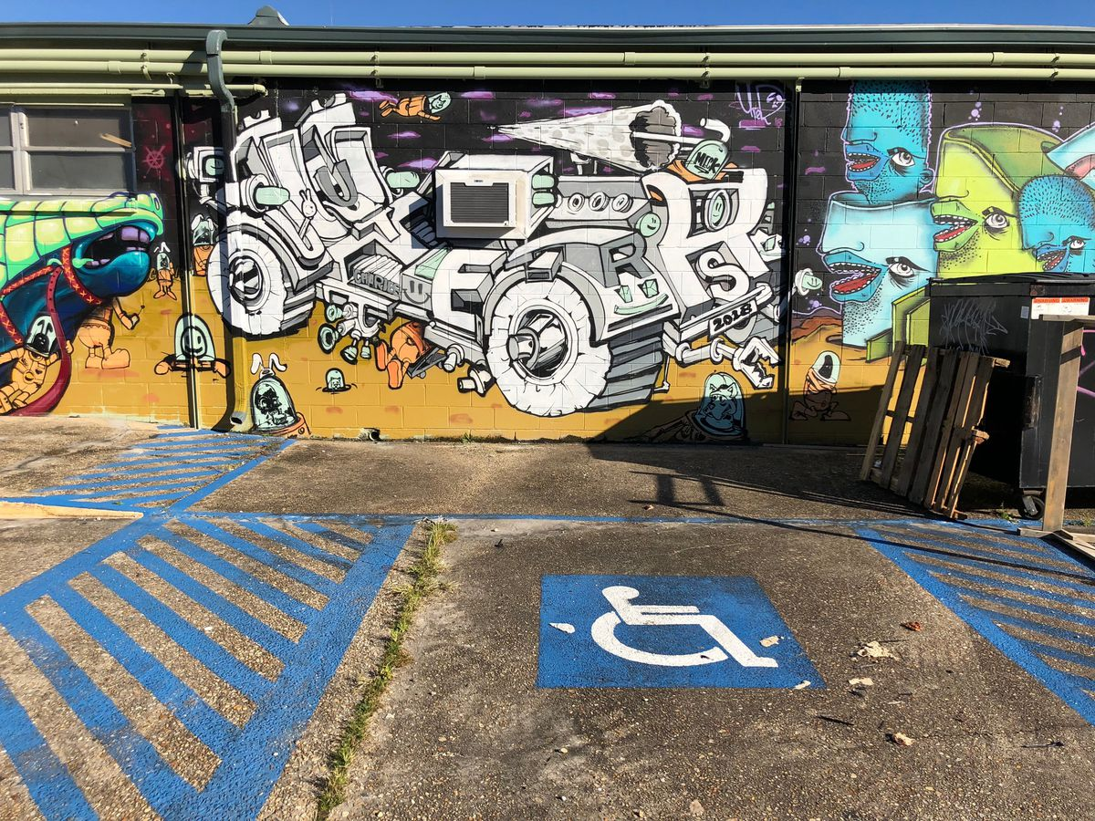 Mapping the upper 9th Ward's graffiti with a street art