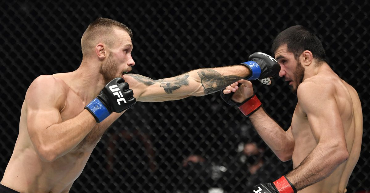 Niklas Stolze vs. Jared Gooden back on UFC Vegas 33 after initial report of cancellation