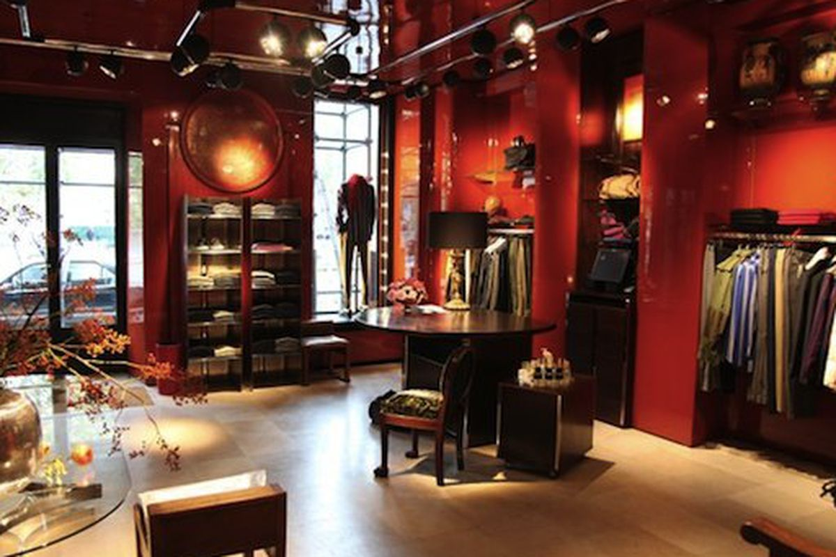 ac7192235e Dries Van Noten Opens His First Men s Boutique on the Left Bank - Racked