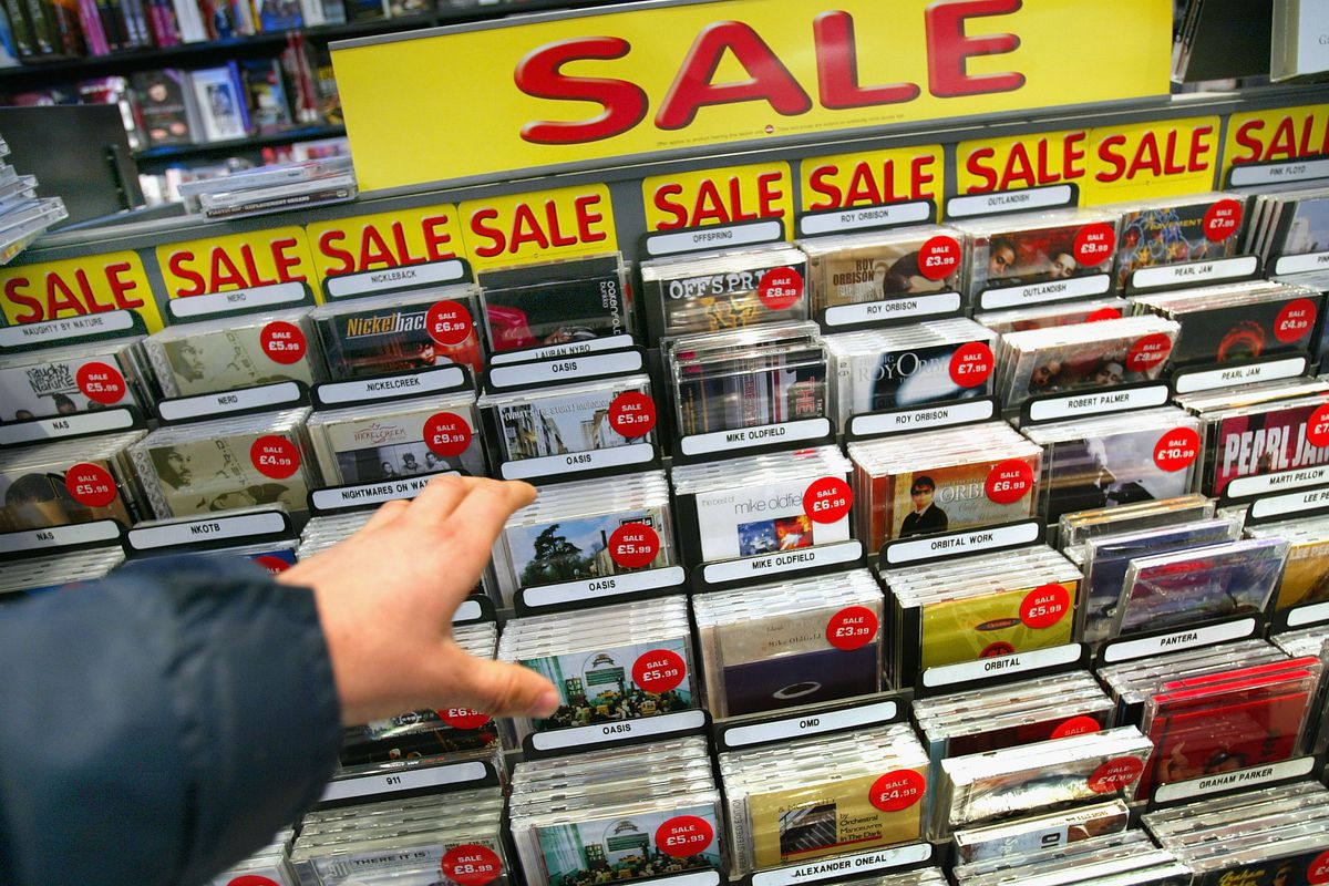 Music Industry Feels Strain As Consumers Go Online