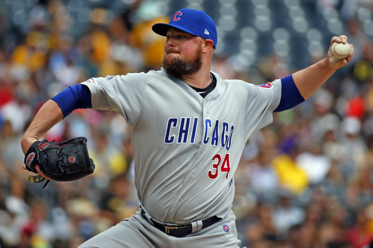 Cubs 2, Pirates 0: Jon Lester and Tyler Chatwood (with help