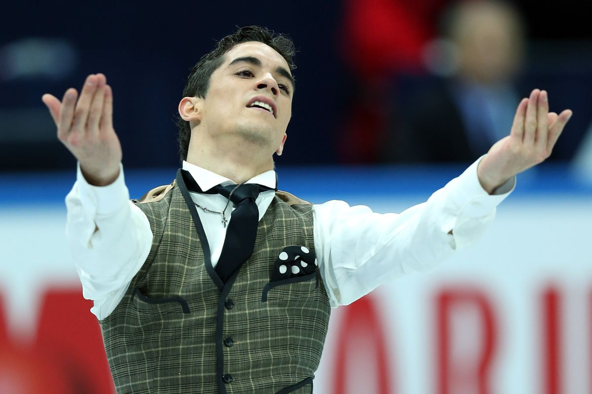 In 2010 Javier Fernandez was the first Spanish Olympic male figure skater in a half-century