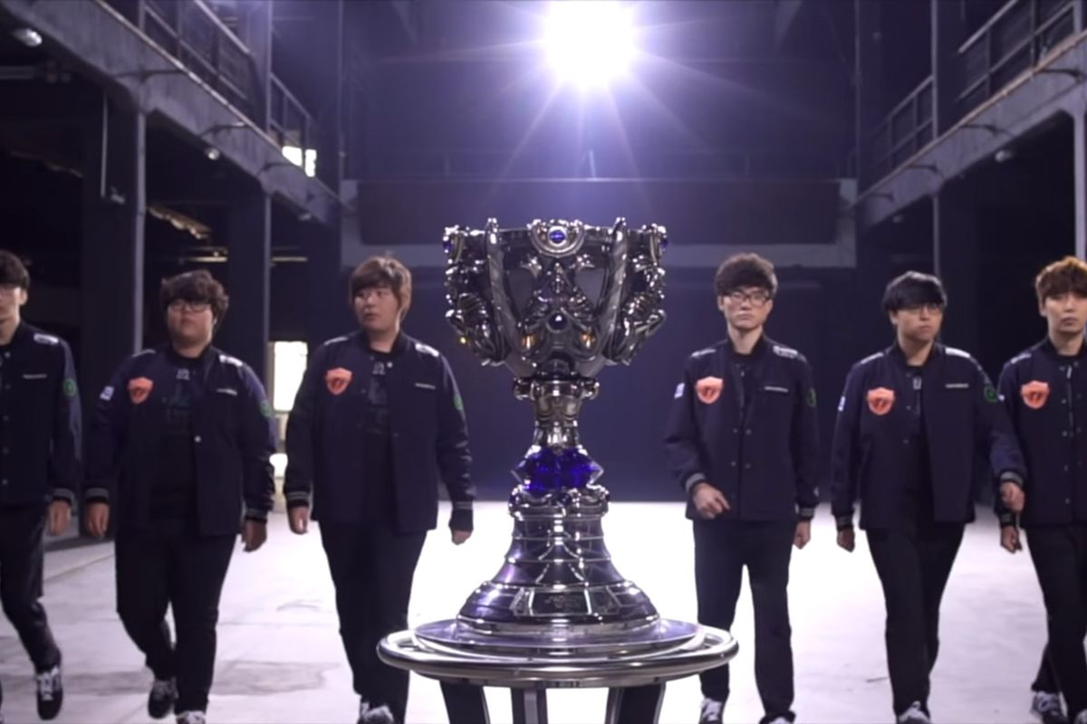 Sk Telecom T1 Becomes First Two Time League Of Legends World