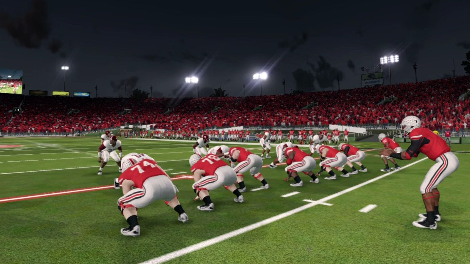 NCAA Football 14: Ohio State roster complete ratings - Land