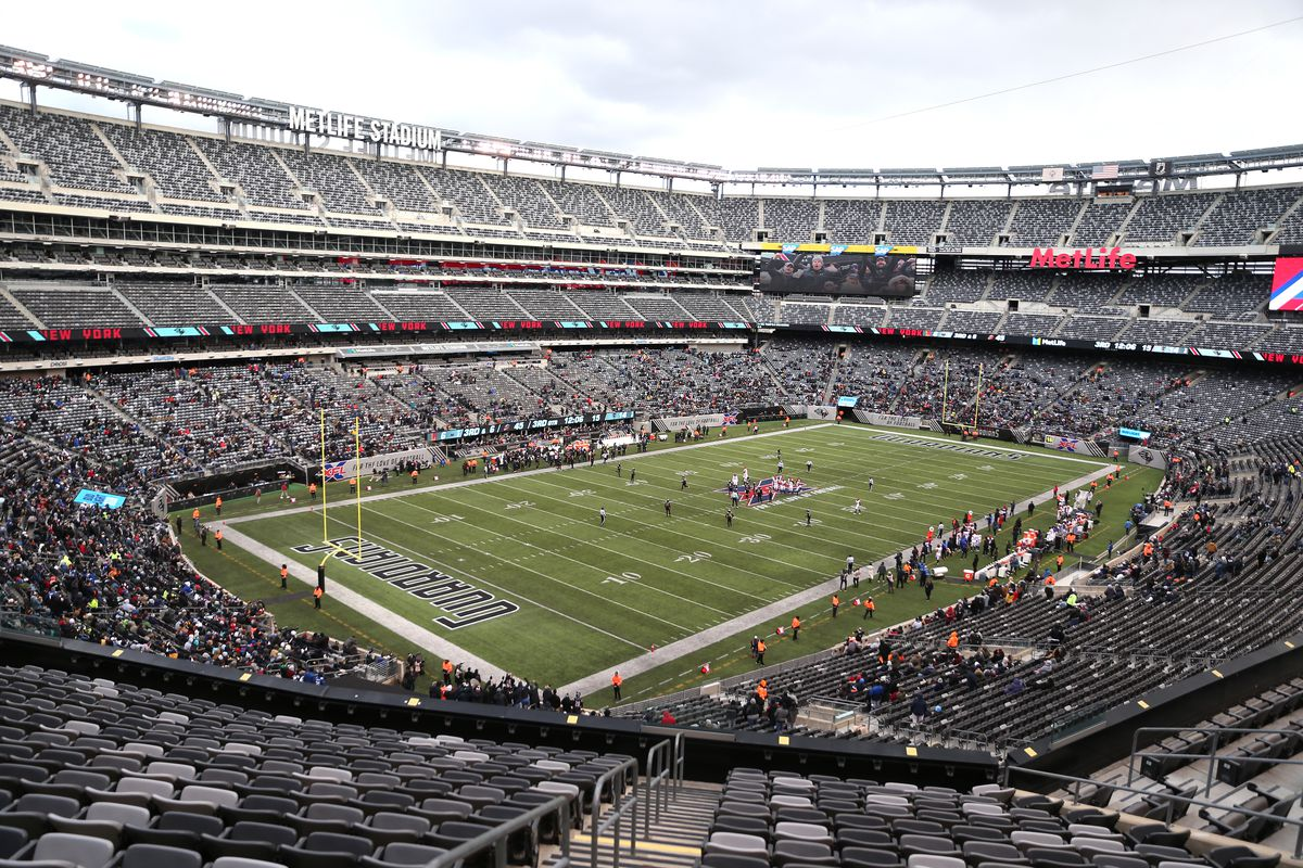 A general view during the second half of their XFL game at MetLife Stadium on February 29, 2020 in East Rutherford, New Jersey.