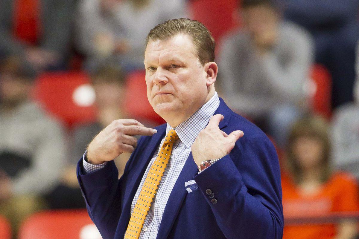 NCAA Basketball: Florida Atlantic at Illinois