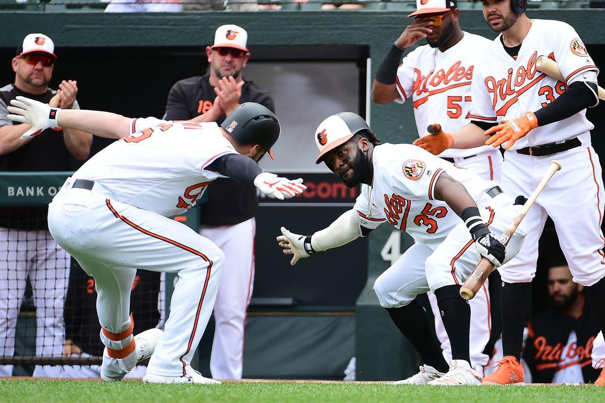MLB: San Francisco Giants at Baltimore Orioles