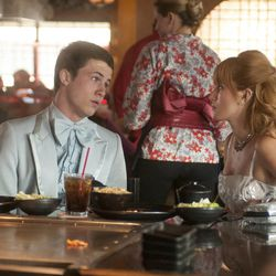 """Anthony (Dylan Minnette) and Celia (Bella Thorne) in """"Alexander and the Terrible, Horrible, No Good, Very Bad Day."""""""