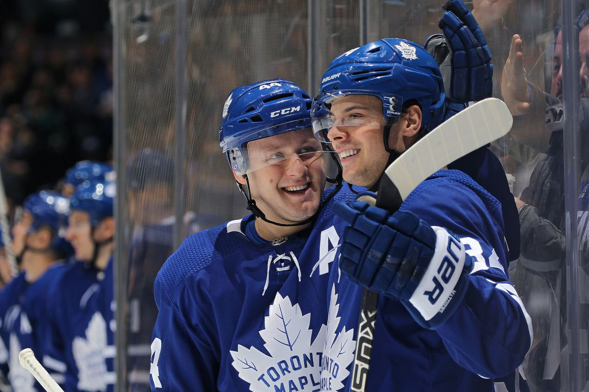 Were Used To Seeing This Photo By Claus Andersen Getty Images Auston Matthews Is