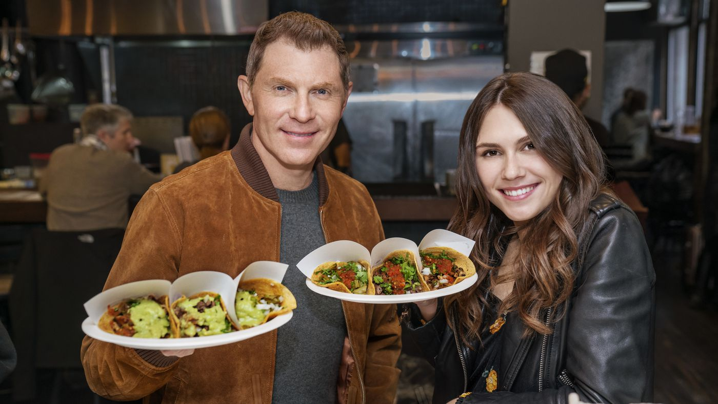 Daughter who flays is bobby Sophie Flay's
