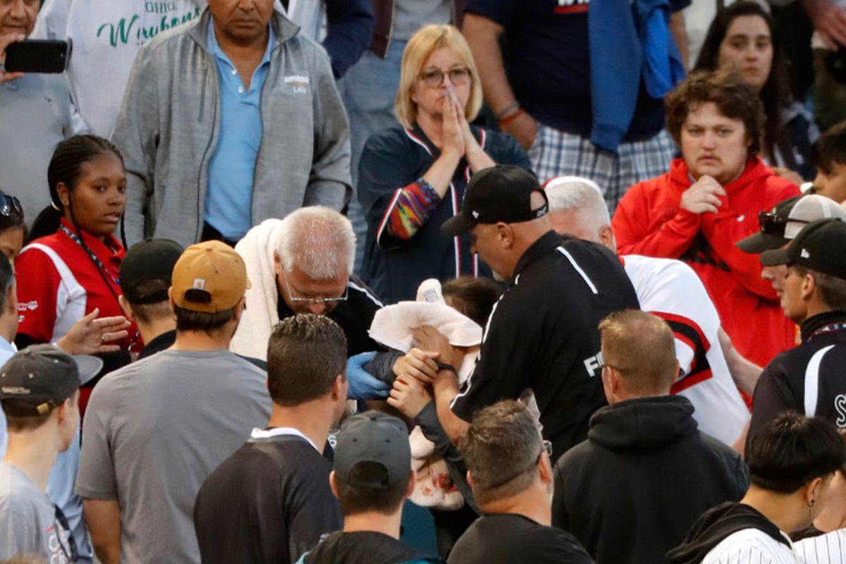 cf9be6ea2 It shouldn't take an injured little girl to try to wake up Major League  Baseball